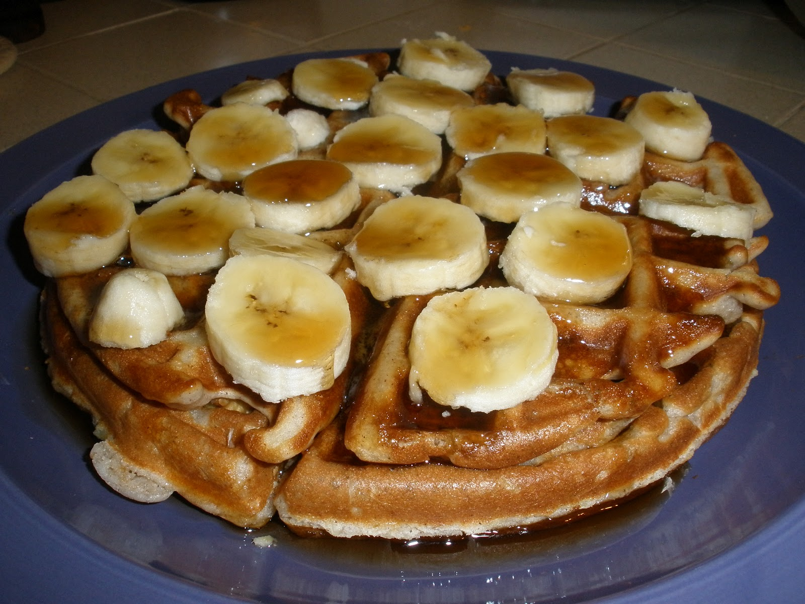 My Glorious Kitchen: Banana Nut Waffles