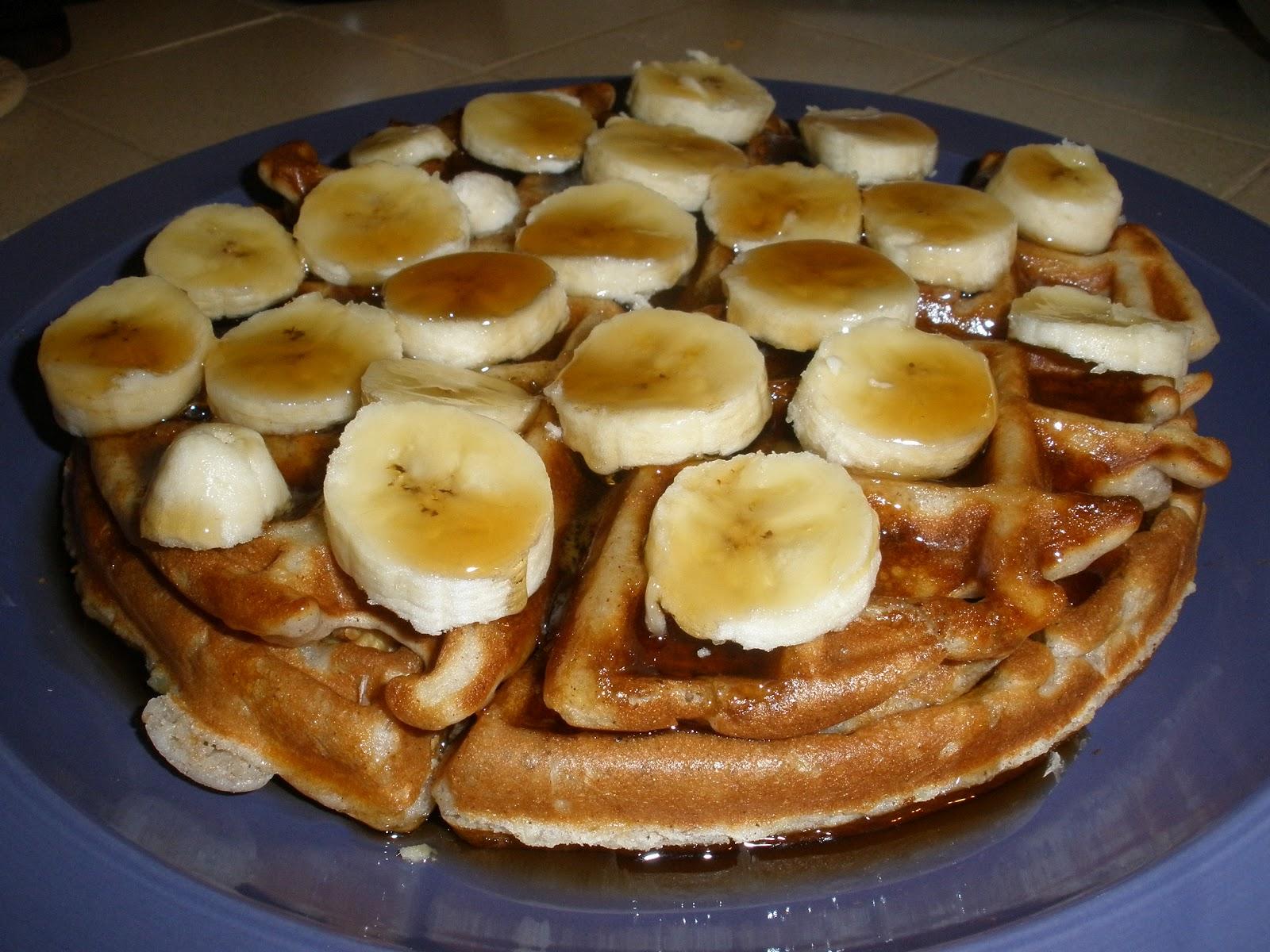 Banana Waffles Recipe — Dishmaps