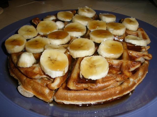 My Glorious Kitchen: Banana Nut Waffles