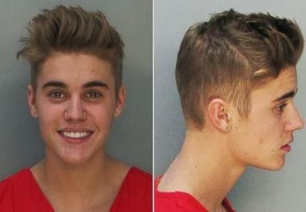 Justin Bieber DUI Arrest Mug Shot Miami 2014
