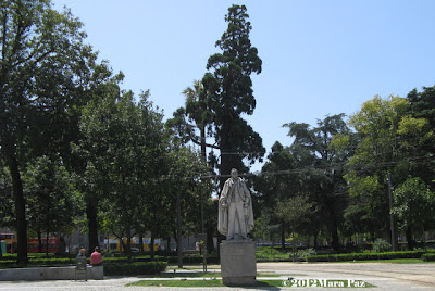 Estatua no Jardim da cordoaria