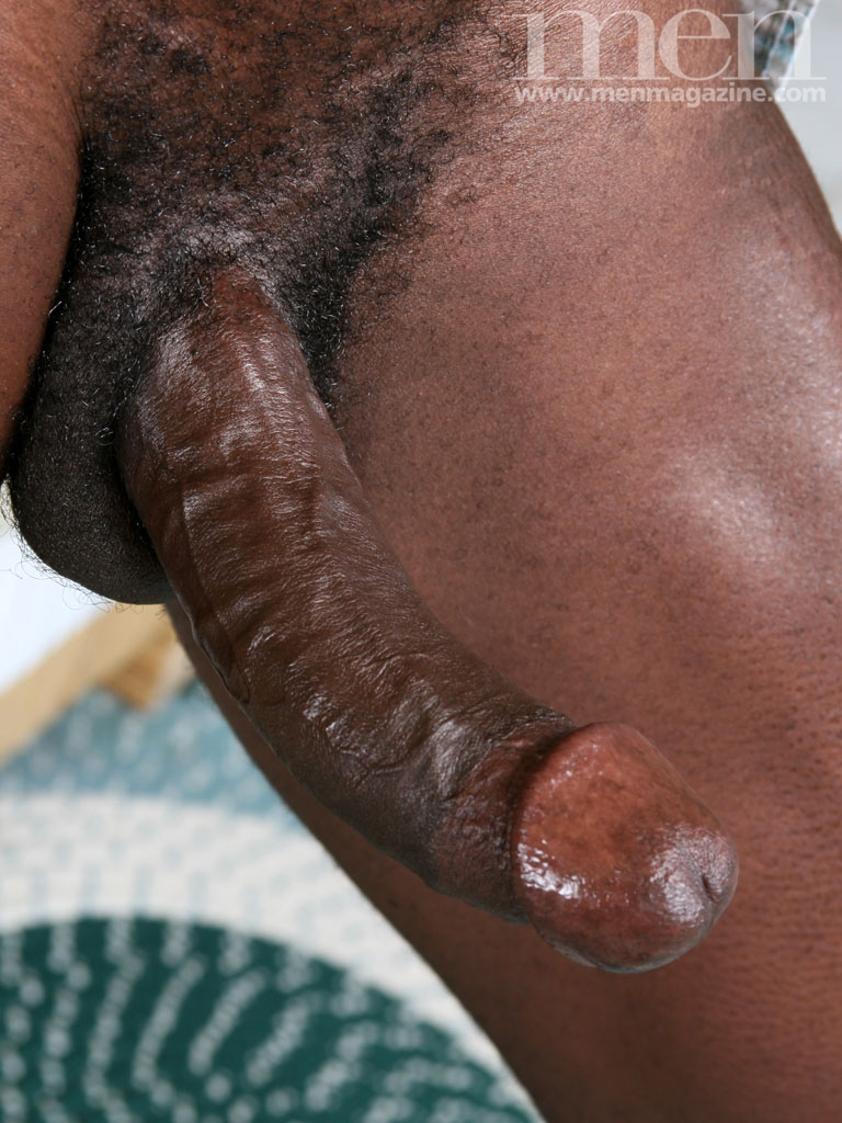 Big black dick in underwear