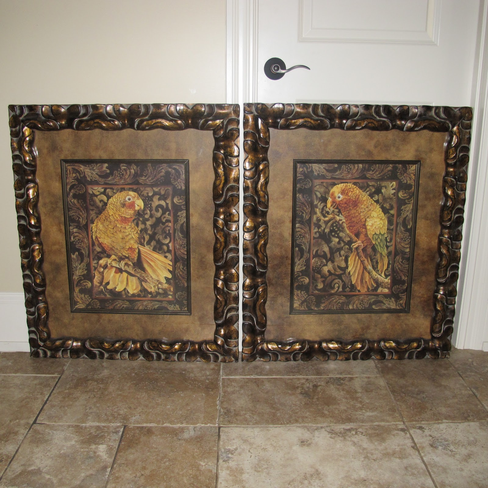 Projects Plenty Parrot Prints And Hobby Lobby