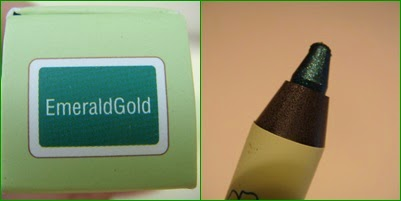 Endless Silky Eye Pen PIXI EmeraldGold
