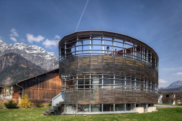 Circular Modern House Plans