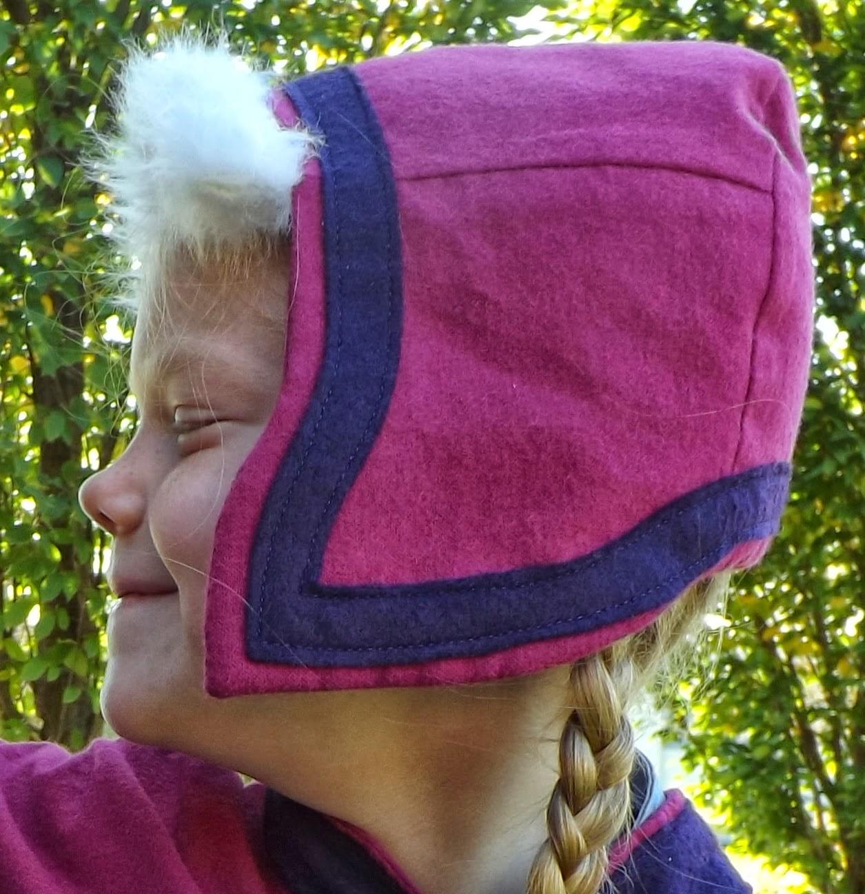 Knitting Pattern For Frozen Hat : Joy 2 Sew: Disneys Princess Anna Pattern Preview