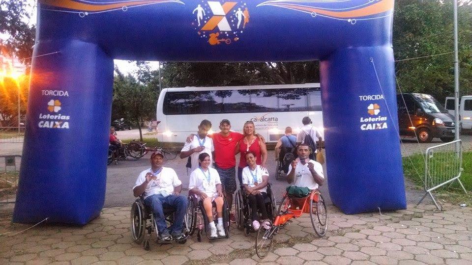 Atletas Circuito Caixa - 2014