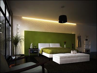 Contoh Desain Kamar Tidur Modern