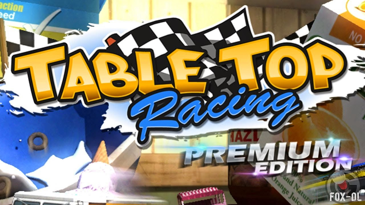 Table Top Racing Premium V1.0.34 MOD Apk + Data (Free Shopping)