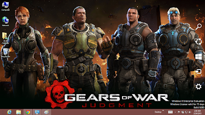 Download Gear Of War Judgment Theme For Windows 8