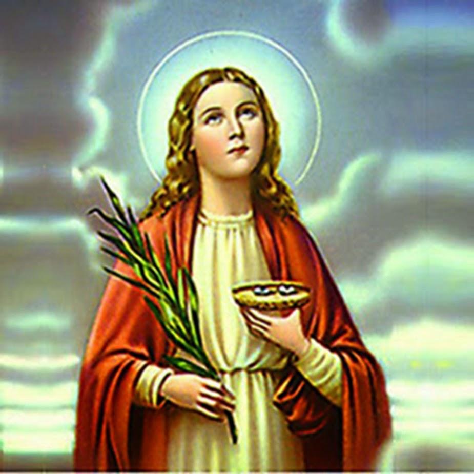 Hoje é dia de Santa Luzia, protetora dos olhos