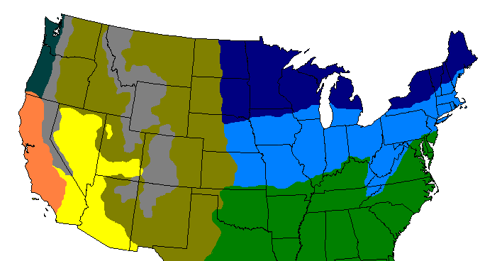 Climate Zones Of The Continental US Vivid Maps - Sweden climate zone map