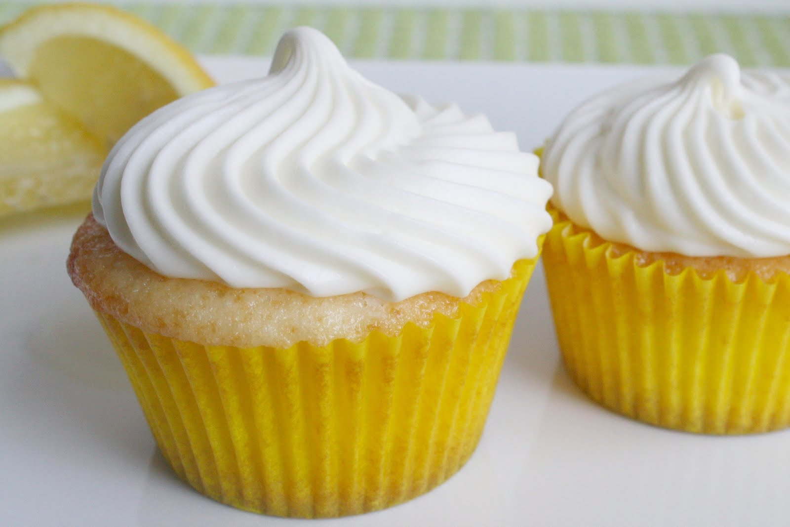 Lemon Cupcakes Recipe — Dishmaps