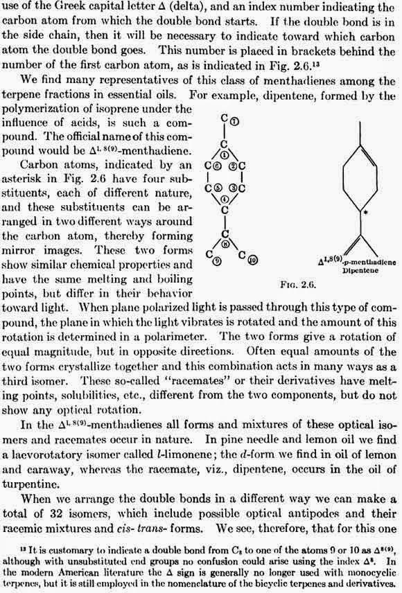 Isomerism of Geraniol.