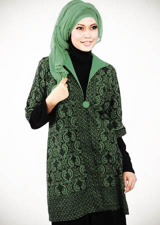 Model Baju Batik Muslim Model Baju Batik Muslim | Black Models Picture