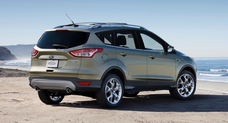 2013. Thankfully, the 2013 Ford Escape is all-new, and first