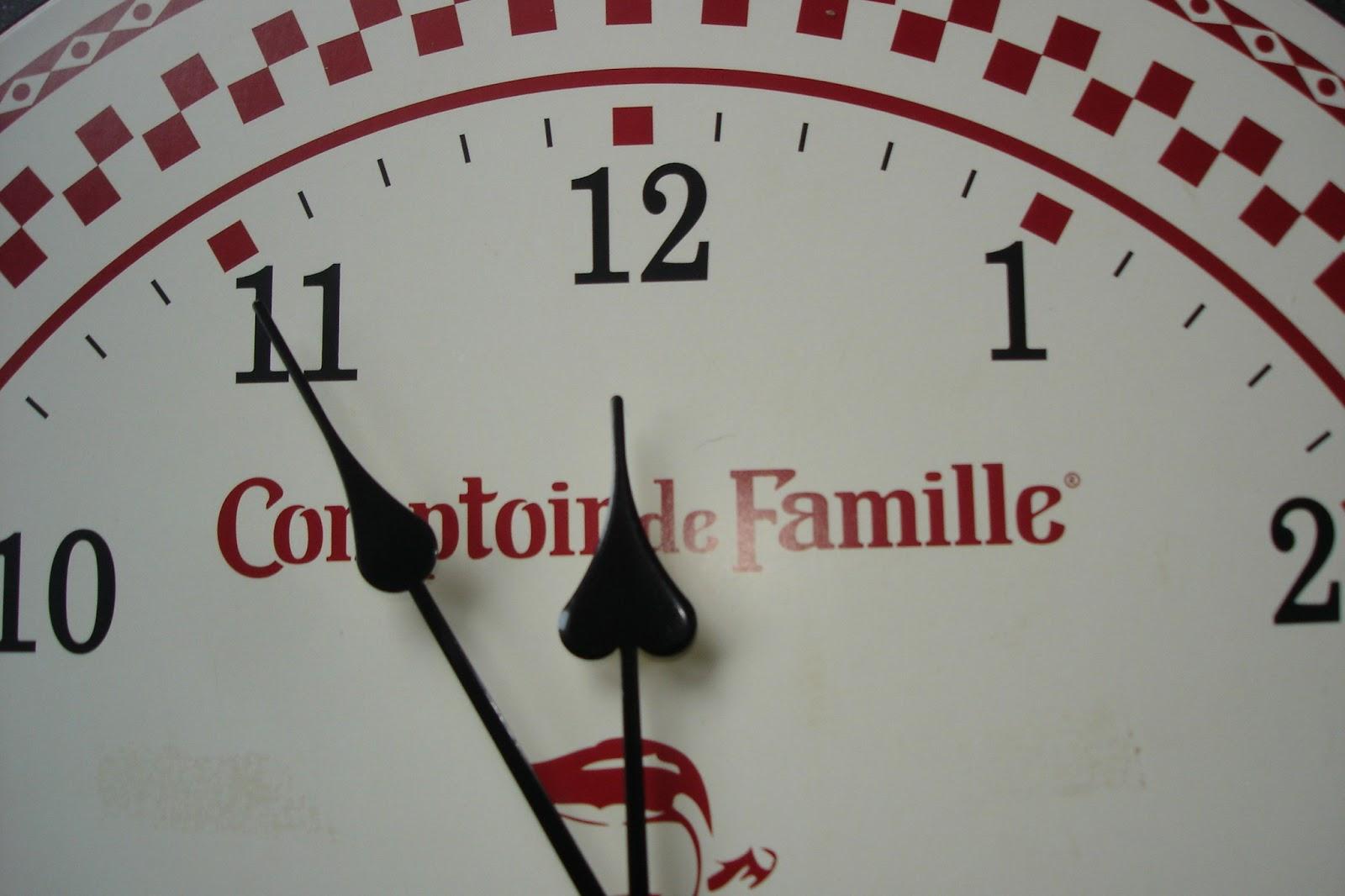 Horloge murale comptoir de famille - Comptoir de famille online ...