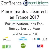 Cleantech Open France partenaire du Panorama GreenUnivers 2017