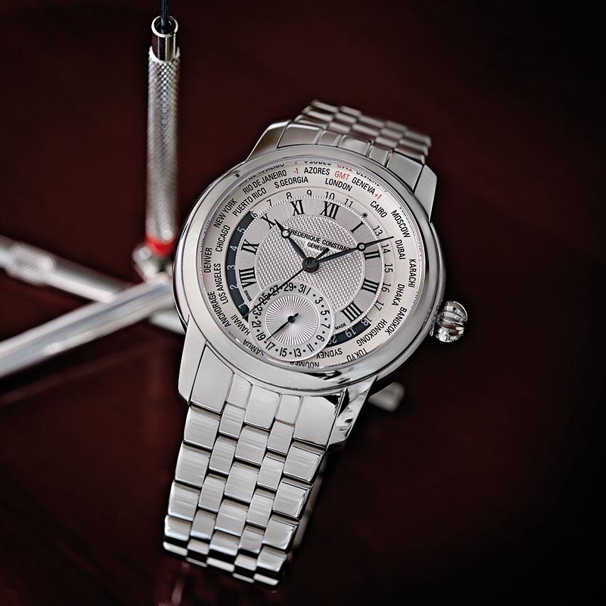 Frederique Constant Classics Manufacture Worldtimer Watch