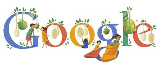 Logo google doodle 17 agustus tahun 2012