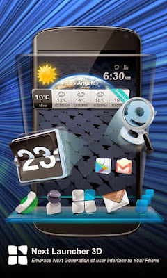 Next Launcher 3D Apk Android