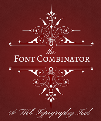 The Font Combinator, a web typography tool
