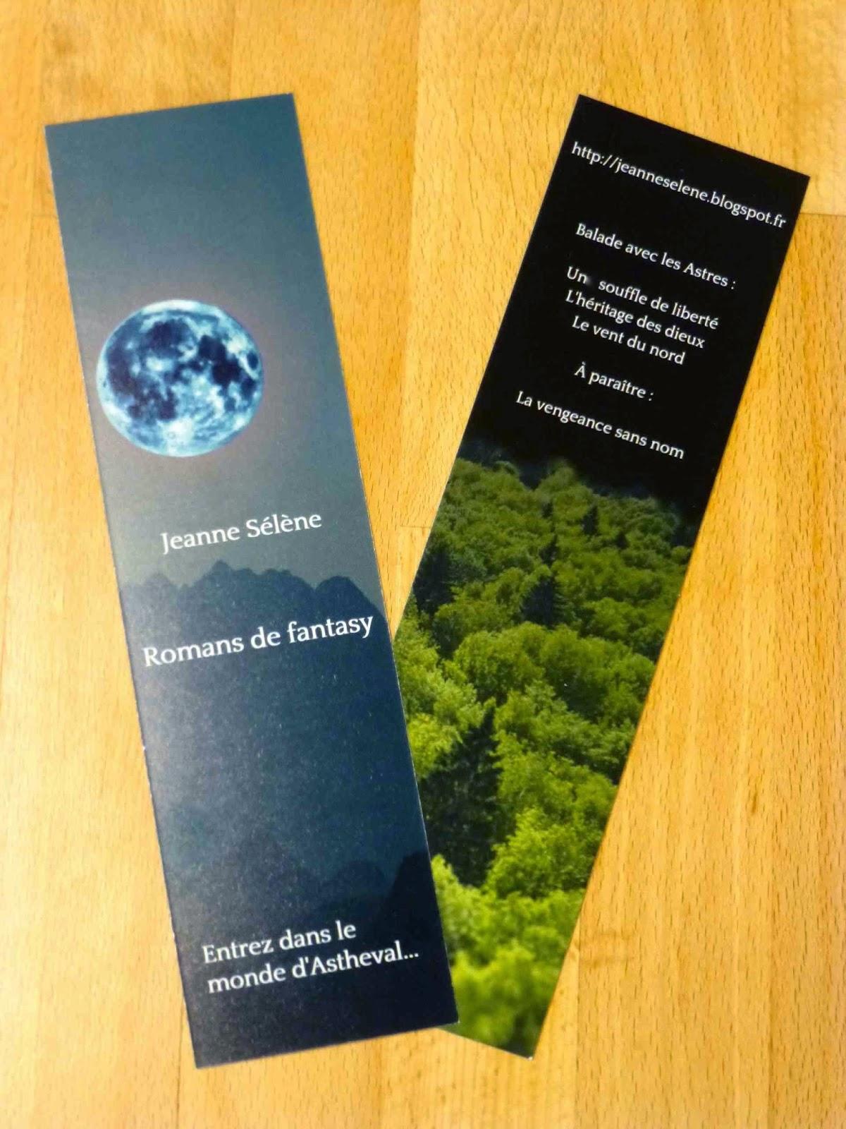 romans de fantasy - auteur de fantasy Jeanne Sélène Astheval