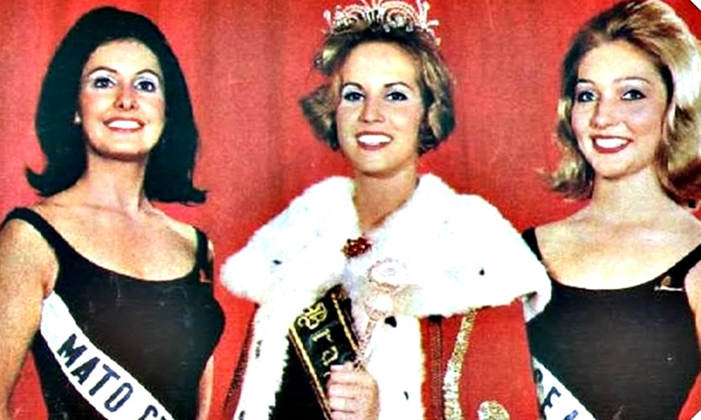Top tres do Miss Universo Brasil 1966