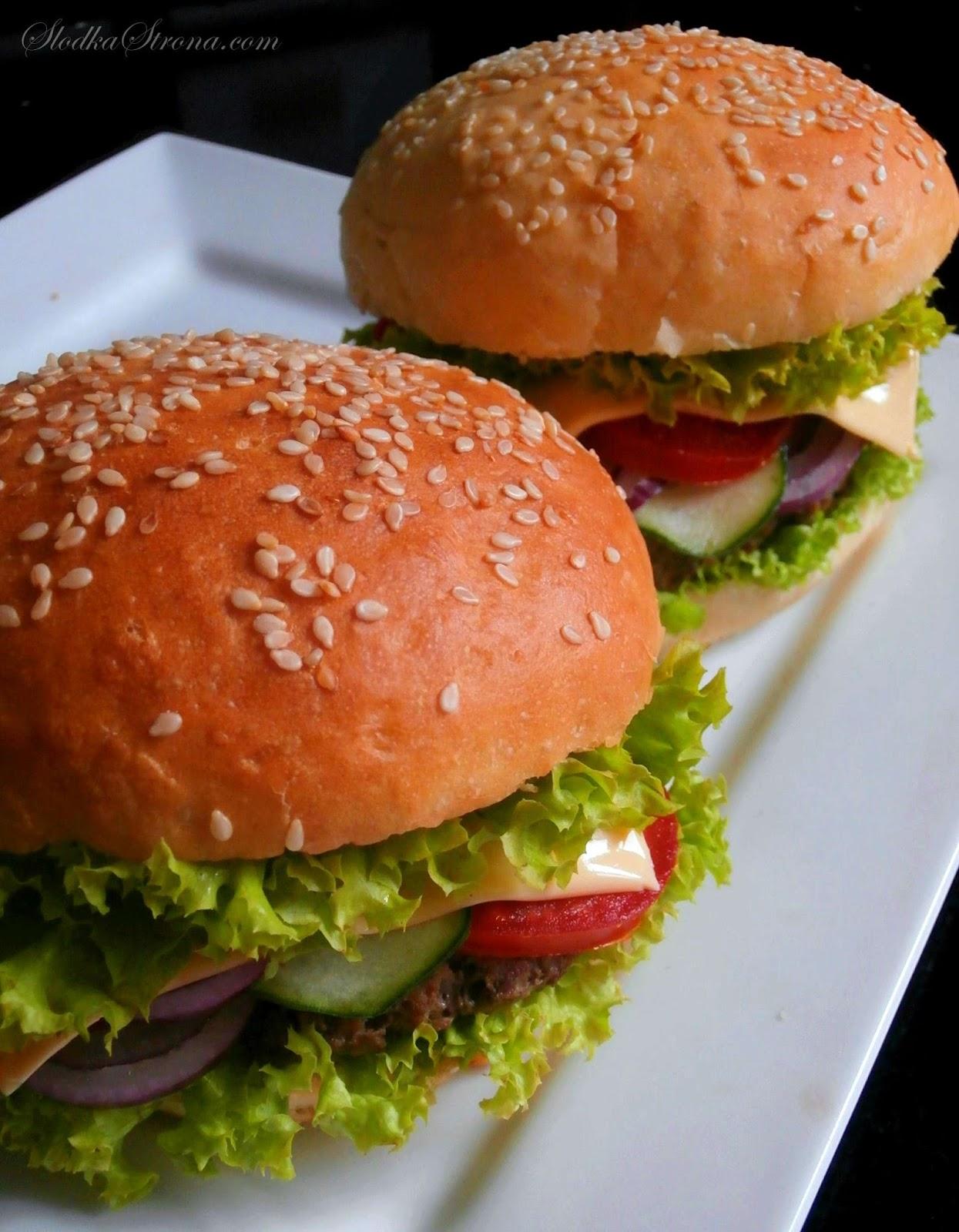 Domowy Cheeseburger - Przepis - Słodka Strona