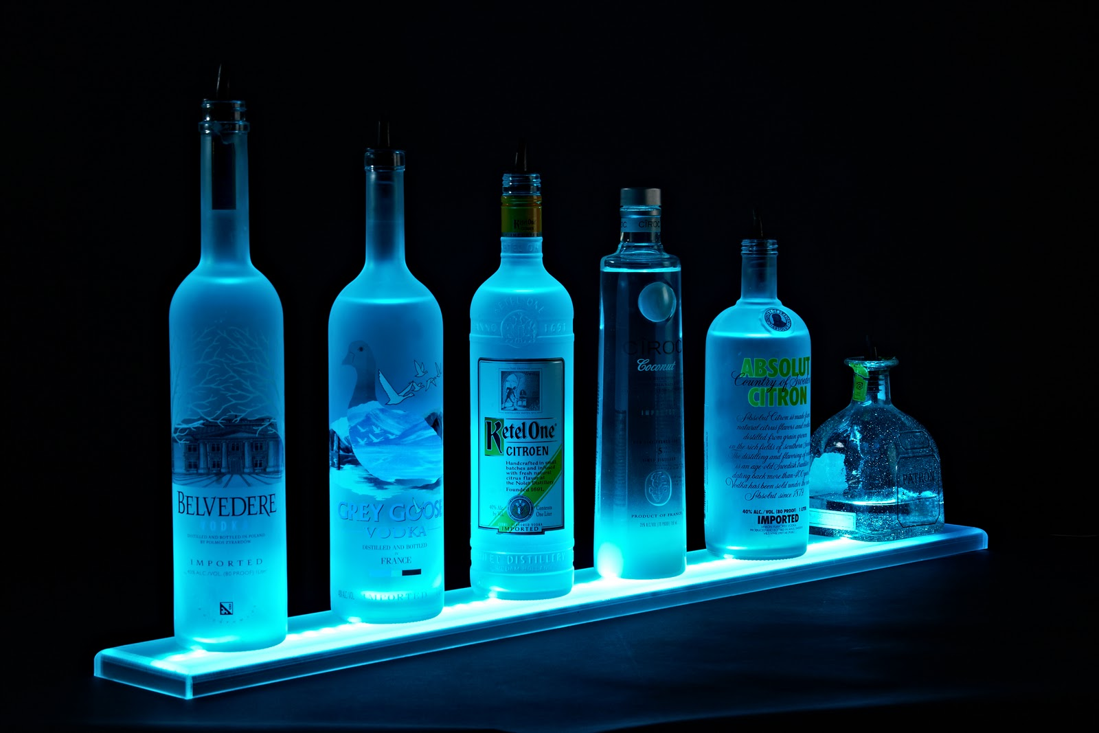 Liquor Shelf Display Led Liquor Shelves