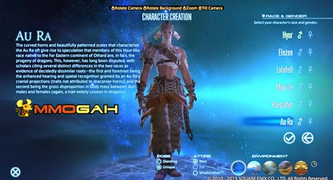 mmogah final fantasy xiv au ra race in heavensward is coming