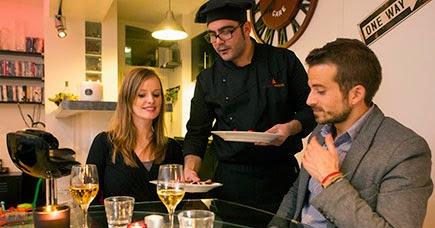 Romantic private chef experience for two d coration de for A la maison personal chef service
