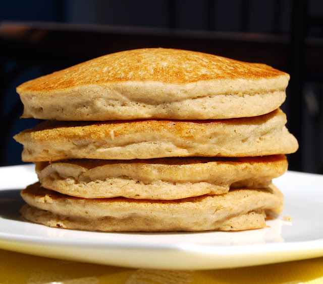 Multigrain Pancakes, gluten-free and vegan