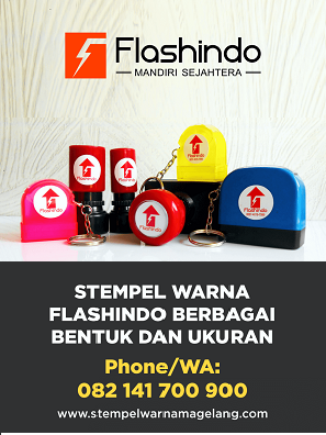 Flashindo Stempel Warna Cab. Magelang