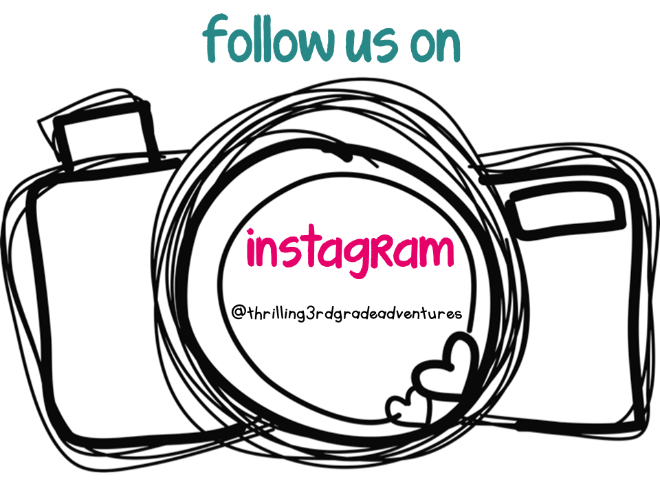 follow us on instagram template - thrilling 3rd grade adventures my 1st periscope target