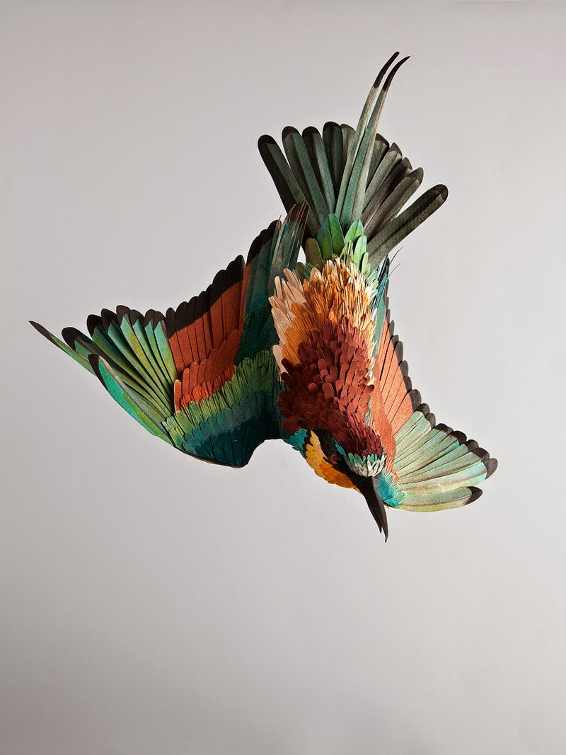 Paper Birds Craft Work | Diana Herrera Beltran