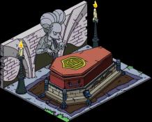 Burns Coffin
