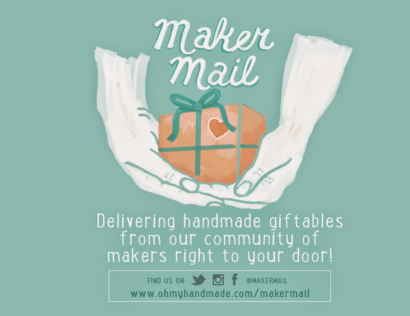 http://ohmyhandmade.com/makermail/