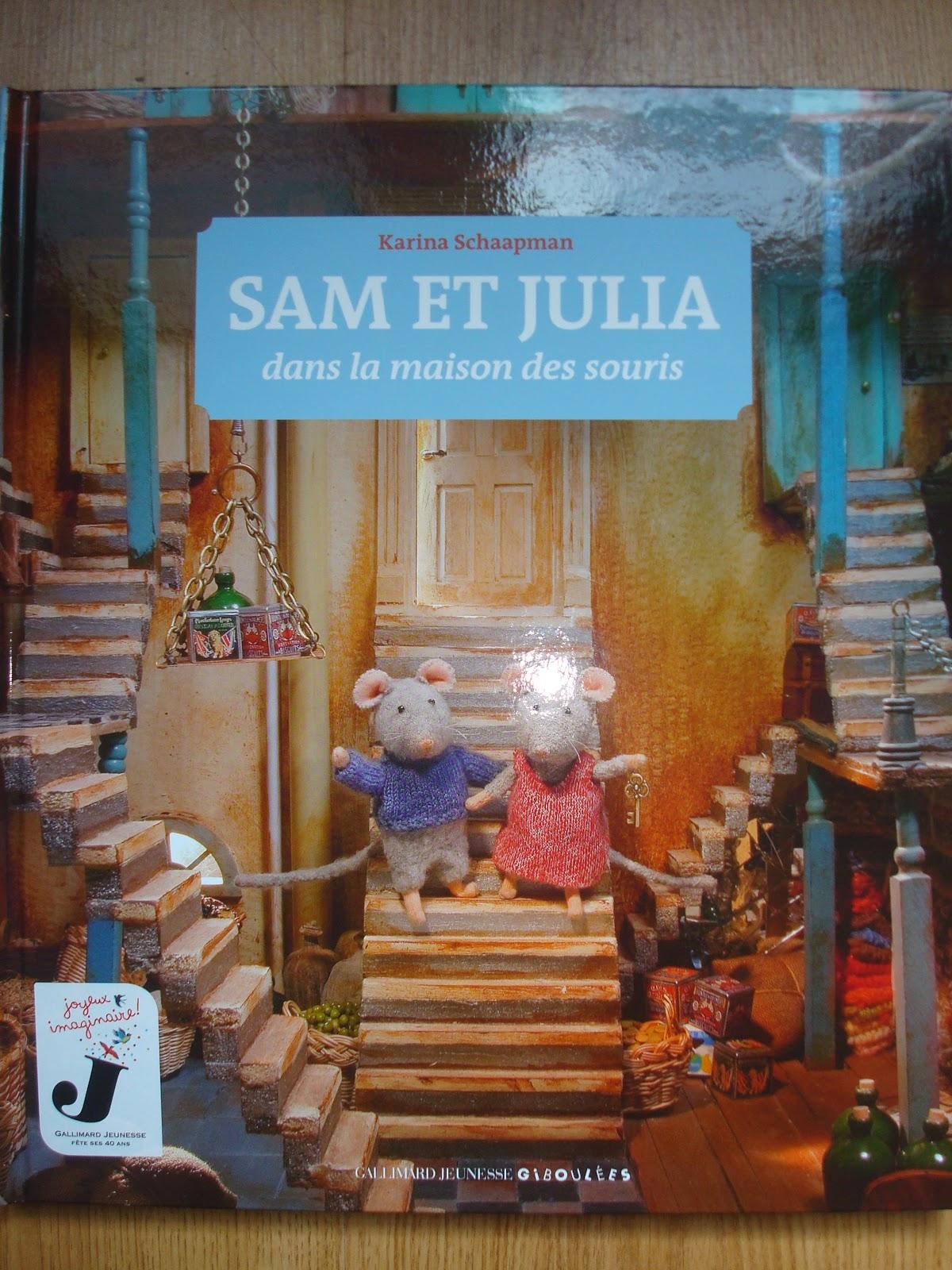 ces doux moments des petites souris dans la maison cinq livres sam et julia dans la maison des. Black Bedroom Furniture Sets. Home Design Ideas