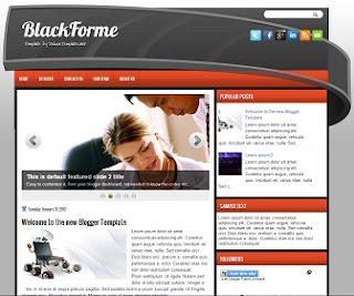 BlackForme Blogger Template