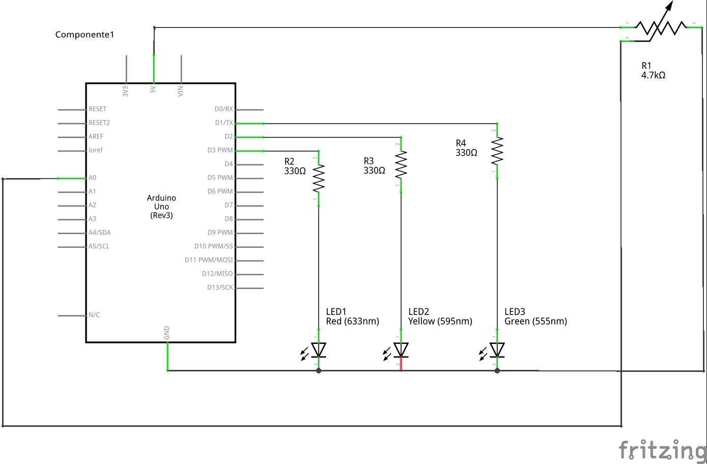 Schema Elettrico Potenziometro : Schema elettrico per potenziometro