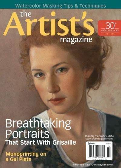 The Artist's Magazine January February 2014