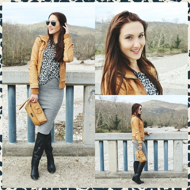 Instagram @lelazivanovic.outfit of the week: Everyday Casual Chic: Leopard Print.Spring 2015 outfit ideas.
