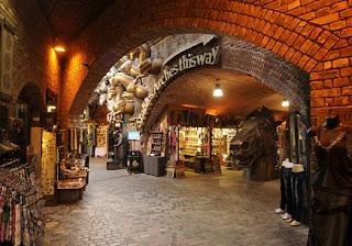 bazar na camden w londynie