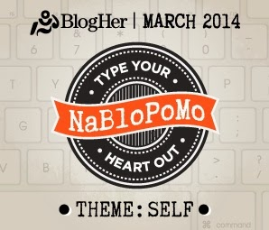 BlogHer March 2014 NaBloPiMo Challenge