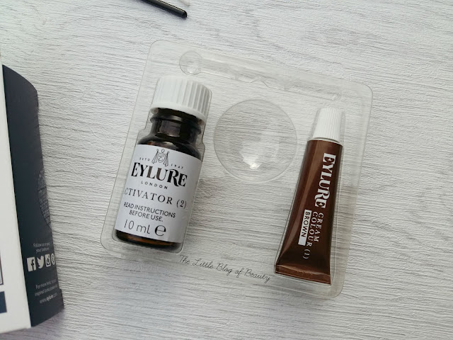 Eylure Pro-brow Dybrow dye kit - Dark brown