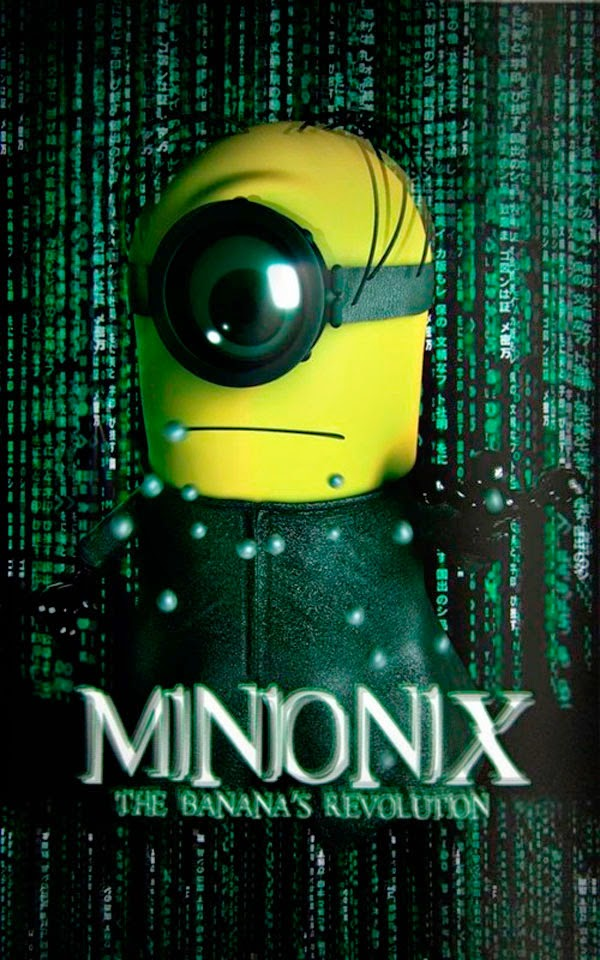 Minion Neo - Filme Matrix