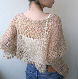 Free Crochet Pattern Poncho With Sleeves : CROCHET PONCHO SLEEVES ? Only New Crochet Patterns