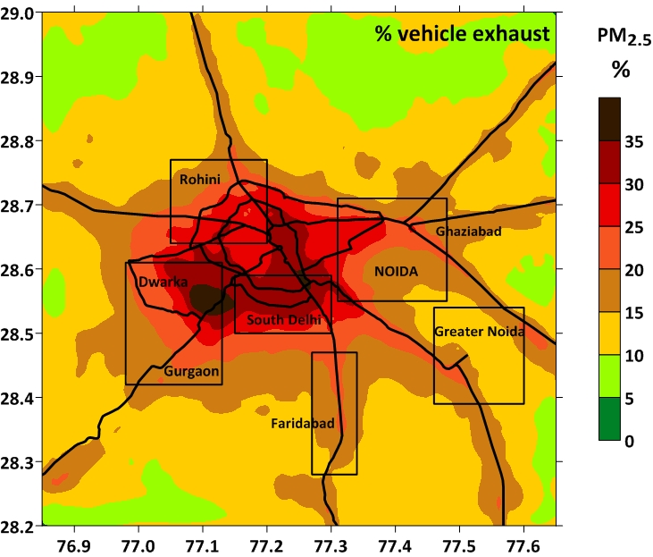Daily Dose of Air Pollution Delhi Choking with NO Action on