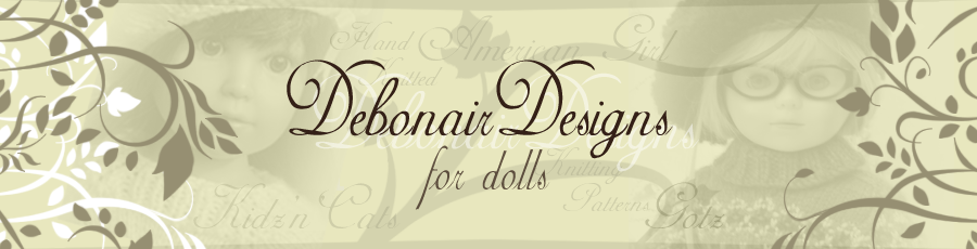"Debonair Designs for American Girl 18"" Gotz Dolls Kidz n Cats Boys & Girls"